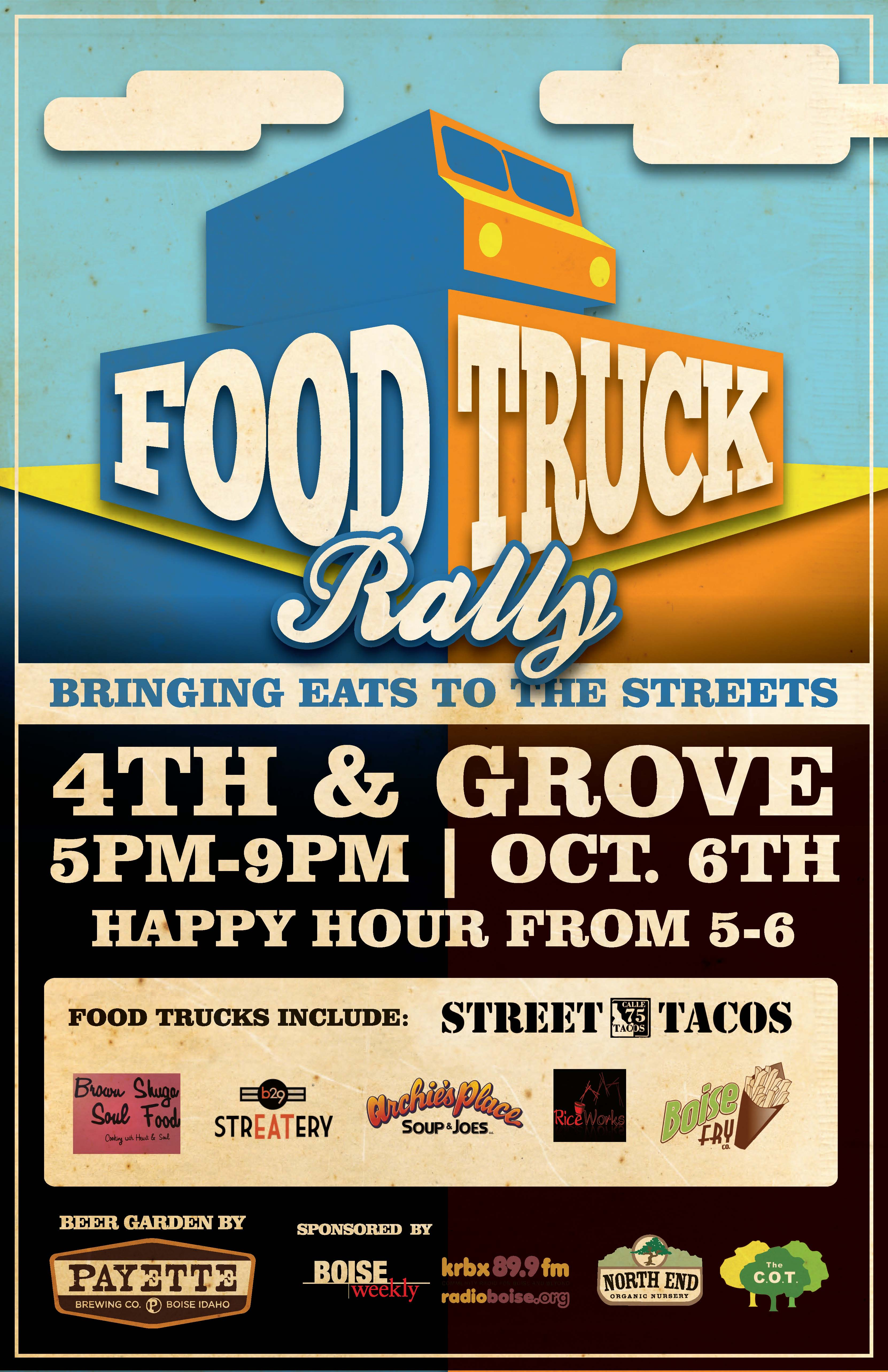 Food Trucks Downtown Boise